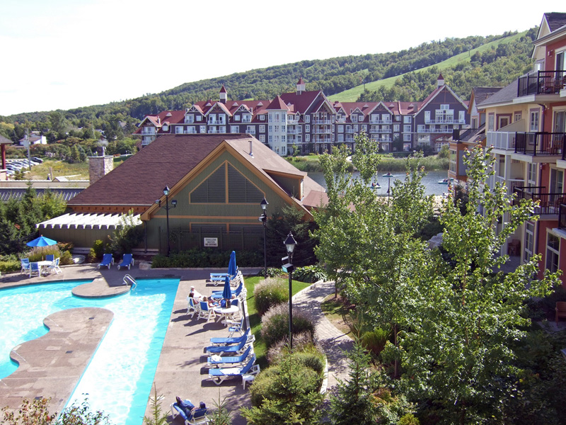 Blue Mountain Vilalge view from Mosaic 3rd floor